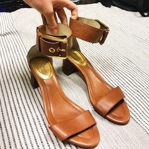 Michael Kors block heel sandal